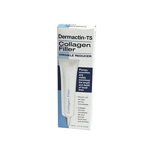Dermactin-TS Collagen Filler Wrinkle Reducer Facial Treatment Products, 1 fl. oz.
