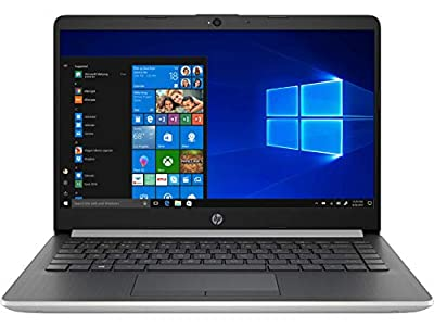 2020 Newest HP Stream 14inch Laptop, Intel Celeron N4000 Dual-Core Processor, 4GB RAM, 64GB eMMC, HDMI, WiFi, Webcam, Bluetooth, Win10 S (Renewed) (Silver/N4000/64GB)