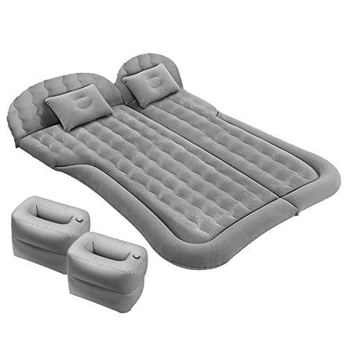 Auto Air Bed Mattress,Car Large Camping Sleeping Bed for Kid Adult,SUV Automotive Inflatable Air Pad with Pump for Automobile Back Seat Trunk Travel Tent,Air Mattress Jeep Sedan Minivan Van Toyota