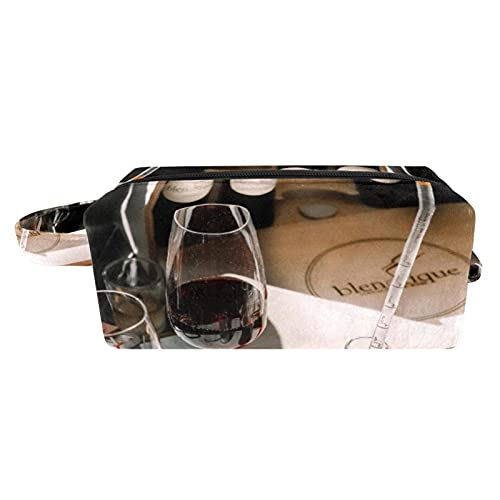 Bennigiry Butterfly On A Flower Long Cosmetic Makeup Bag Neceser Bolsas para el cuidado de la piel Cosmético Handy Bag Zipper Bag