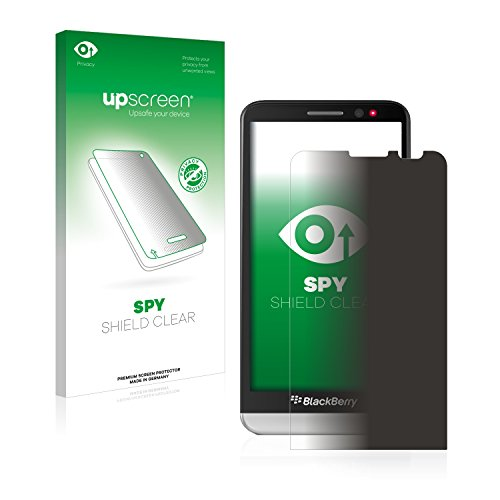 upscreen Anti-Spy Blickschutzfolie kompatibel mit BlackBerry Z30 Privacy Screen Sichtschutz Bildschirmschutz-Folie