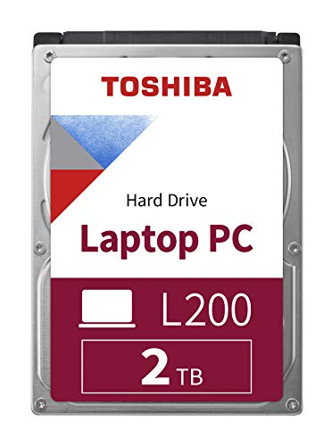 Toshiba HDWL120UZSVA 2 TB L200 6.35 cm (2,5 Zoll) 9,5 mm Mobile Festplatte