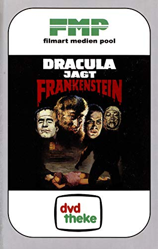 Dracula jagt Frankenstein - Cover A - VHS-Retro-Look - Limited Edition auf...