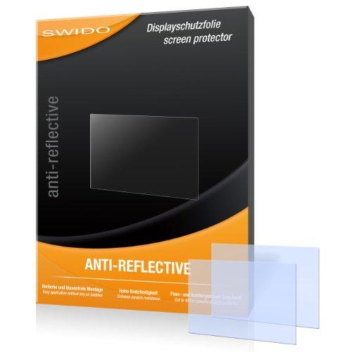 SWIDO X024247 2-er hartbeschichtet Anti-Reflective Displayschutzfolie für Sony Cybershot DSC-W830/W-830