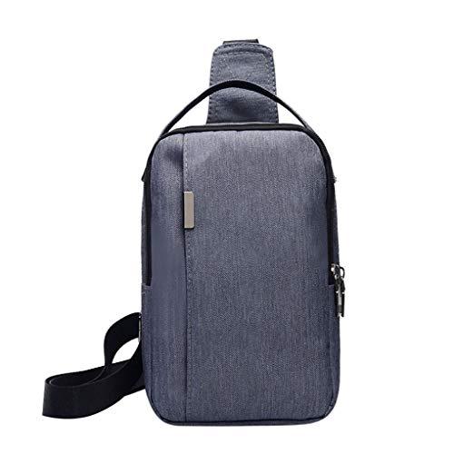 Brusttasche für Herren/Skxinn Umhängetasche Schultertasche Cross Bag Schleuder Tasche Sling Rucksack Multipurpose Daypack,Outdoor Sport Running Casual Umhängetasche(I-1)