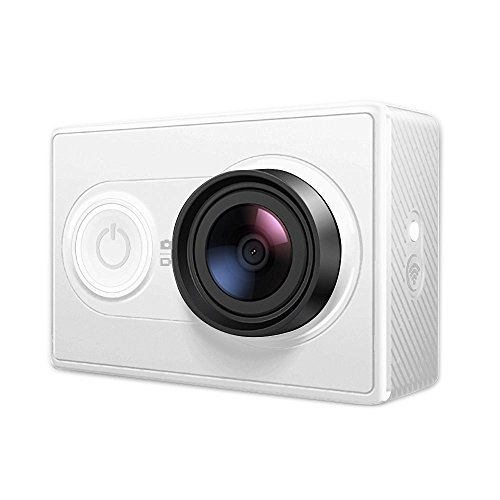 YI Action Kamera Sensor Aus Sony Ambarella A7LS 2Kp30 1080p60-Weiß