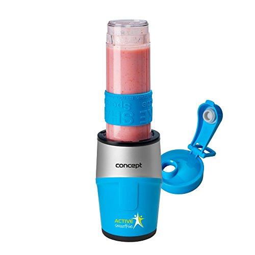 Concept Electrodomésticos sm3384 Smoothie marker active con una cabeza, 500 W, 0.57 litros, plástico, Azul