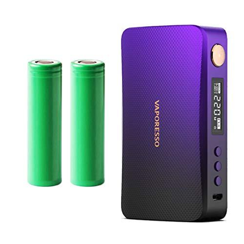 Vaporesso Gen-S Mod (220 W) Akkuträger 5000 mAh (Produkt enthält kein Nikotin) (schwarz-lila)