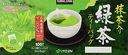 Kirkland Ito En Matcha Blend Japanese Green Tea, 100 ct