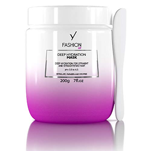 GYP Fashion UP Mask,,deal for Extremely Dry Hairs, Extreme Shining Hair, Color Safe, Enhanced with Oil Grape Seed and Murumurú, Sulfates and Parabens Free, 7.0 Oz
