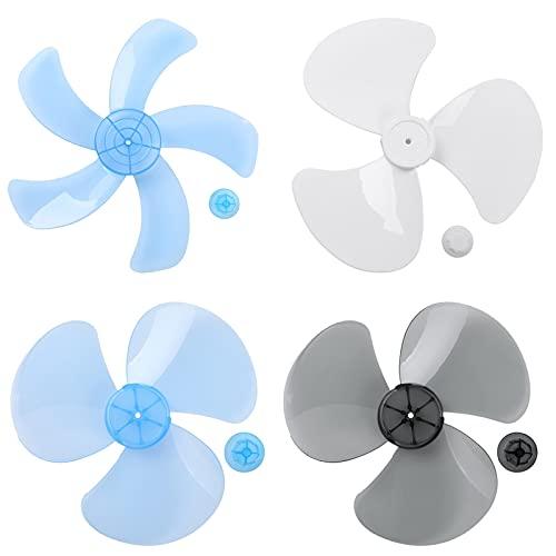 Ventilaciones Tres / Cinco hojas Hoja de ventilador de la casa con tapa de tuercas Hojas de ventilador para el pedestal de pie Mesa de ventilador Fanner Accesorios generales Fans Para oficina en casa