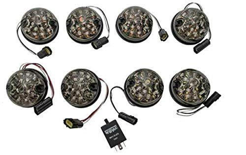 Proper Spec Wipac Smoked Lens Led Light Kit for Land Rover Defender 90/110 DA1190