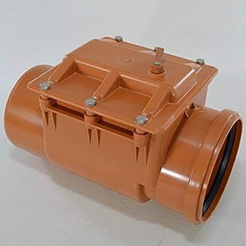 Rückstauverschluss Ø DN 200  Rattenschutz//Rückstauklappe Abwasserrohr 200 mm