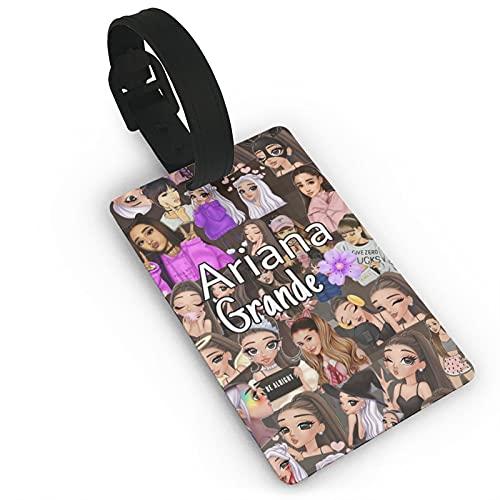 Ariana Grande - Etiquetas de equipaje para mujeres y niños, talla única