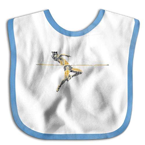 Hip Jump Athletics Funny Baby Bibs Burp Infant Drool Toddler Bibs