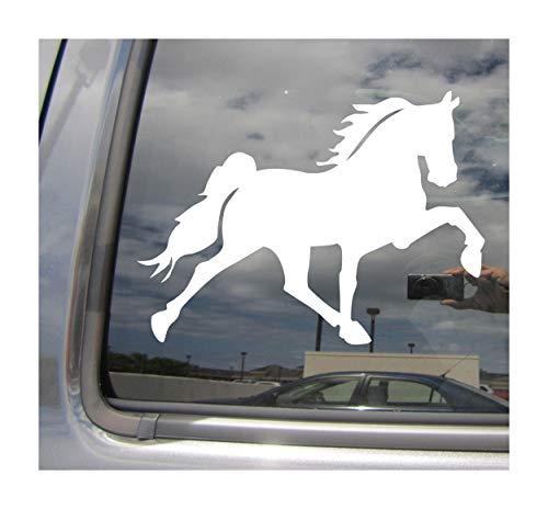 Right Now Decals Tennessee Walking Horse Walker Gaited - Cars Trucks Moped Helmet Hard Hat Auto Automotive Craft Laptop Vinyl Decal Store Window Wall Sticker 01269
