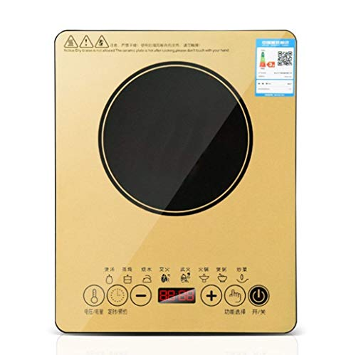 RSGDWD Electric Ceramic Stove, scheduled Electric Stove, Multi-Function Induction Cooker, Intelligent Electric Stove, Touch Induction Cooker, electromagnetic Light Wave Stove, 2200W