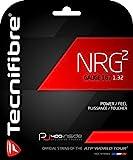 Tecnifibre NRG2-17 Gauge in Black Color - Multifilament Tennis Racquet String Sets 2-Pack (2 Sets Per Order) - Best for Power and Comfort