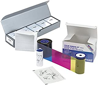 Datacard 534000-006 YMCKTKT Color Ribbon & Cleaning Kit + 500 PVC Cards