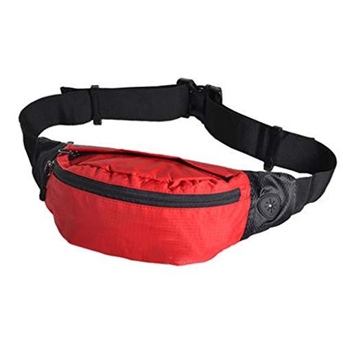 CAODANDE Sporttas fitness tas multi-pocket ontwerp waterdichte stof verstelbare tailleband ademende waterdichte taille pack