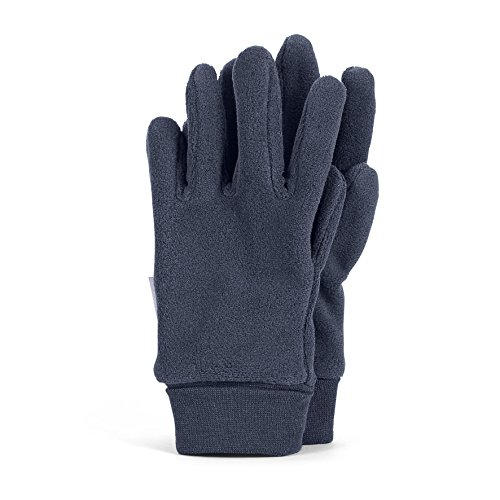 Sterntaler Jungen Fingerhandschuh Handschuhe, Blau (Marine 300), 7