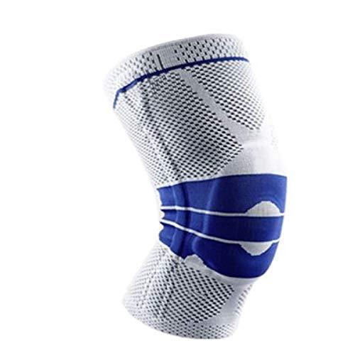 HUANGDANSEN Rodilleras cinturón de Soporte de Rodilla Completo de Resorte de Silicona para Proteger Las Almohadillas Deportivas para Correr |Codos y Rodilleras