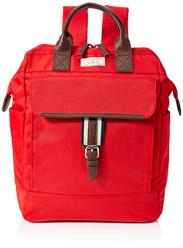 Joules Women's Wells Rucksack, Red, Large