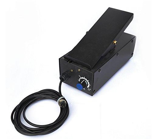 LOTOS FP05 Foot Pedal for Plasma Cutter Welder Amp Control 5 Pin Lotos FP05 for Plasma Cutter and Welder Combos CT520D LTPDC2000D