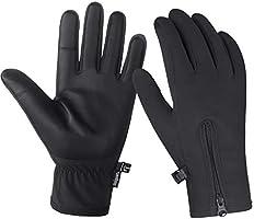 Unigear Guantes de Invierno Super Cálido Impermeable Pantalla Táctil A Prueba de Viento Antideslizante para Moto y...