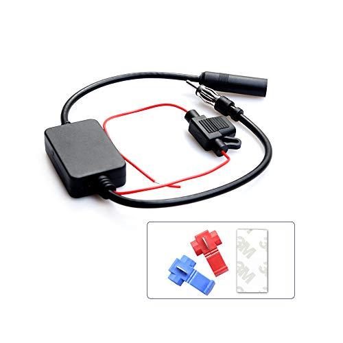 Antenne Splitter Booster FM naar DAB/DAB+ Antenne Converter Signaal Versterker Adapter voor Vrachtwagen Auto