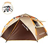 Best Camping Tents - ZOMAKE Dome Tent for Camping 3 4 Person Review