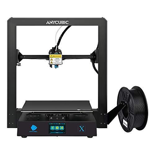Anycubic Mega-X FDM 3D Drucker für Baugröße 300 x 300 x 305mm Z-Achsen Dual Trapezgewindespindel UltraBase Druckbett beheizt für PLA, ABS, TPU (Mega X)