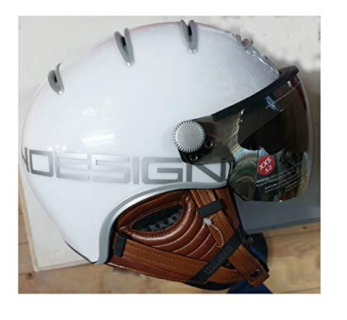 Kask Damen Helm Class - weiß Größe XXS 52 -incl. Helmtasche mit Griff