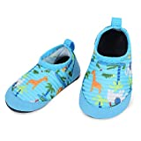 L-RUN Infant Swim Shoes Baby's Walking Shoes Anti-Skid Blue 6-12...
