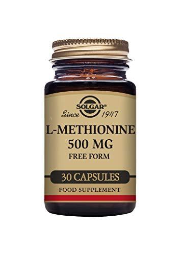 Solgar L-Methionine 500 mg Vegetable Capsules - Pack of 30