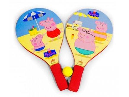 Gen 13 Raquettes de Plage Peppa Pig + Balle - Beach Ball