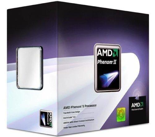 AMD Phenom II X4 945 Quad-Core - Procesador (3,00 GHz, caché de 8 MB, Socket AM3, 125 W, 45 NM)