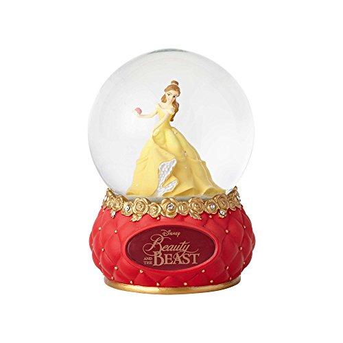 Enesco Disney Showcase belleza y la bestia piedra resina y cristal de elefante, 5.5