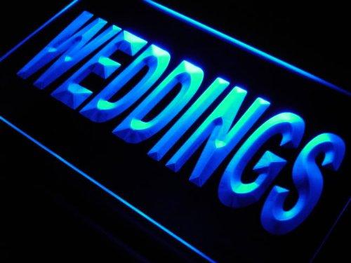 ADV PRO Enseigne Lumineuse j699-b Weddings Services Shop Gift Neon Light Sign
