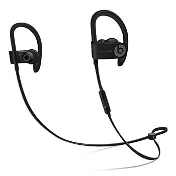 Powerbeats3 Wireless In-Ear Headphones - Black  Renewed