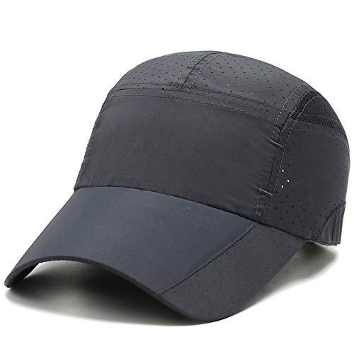 N / A Baseballmütze Männer Unisex Kappe Klassische Atmungsaktive Mütze Schatten Reisen Sport Draussen Verstellbar Stil