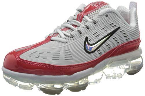 Nike W Air Vapormax 360, Zapatillas para Correr Mujer, Gran Gris/Blanco/Partícula Gris/Blanco, 38.5 EU