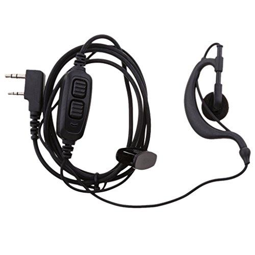 prasku Ganchos para La Oreja Auriculares Micrófono Auriculares para Radio BF UV 82 UV 82L UV 89