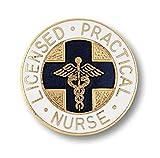 Prestige Medical Emblem Pin, Licensed Practical Nurse (Blue Cross)
