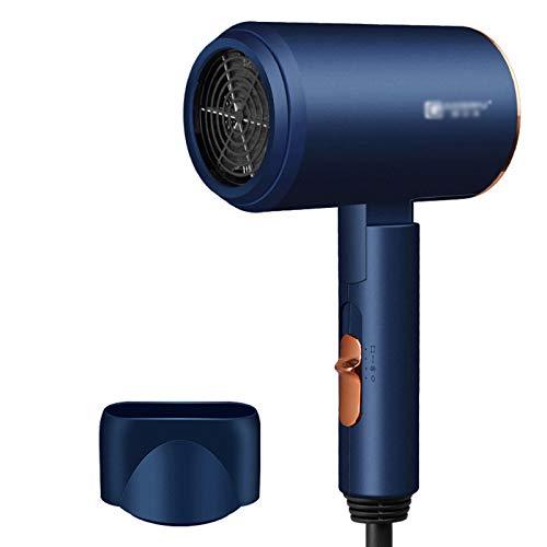 FRTG Secador de Pelo Profesional eólica Potente luz Azul anión secador de Pelo eléctrico secador de Aire Herramientas de peluquería,B