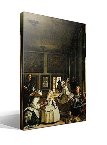 cuadro canvas Las Meninas. La Familia de Felipe IV de Velazquez - 70cm x 95cm