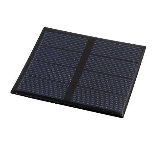 sourcing map 82mm x 70mm 0,6 Watt 2 Volt Polykristallines Solar Solarzelle Solarmodul Modul DE de