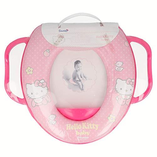 Hello Kitty pour enfant Entraînement WC rembourré avec poignées