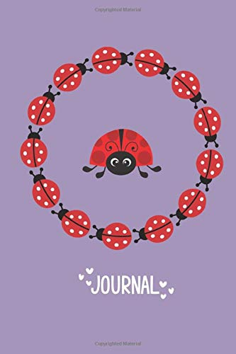 Ladybug Journal: Cute blank lined notebook, Planner, Gratitude, Writing, Inspirational Gift.