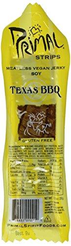 Primal Spirit, Vegan Meat Alternative Jerky, Texas Barbecue Flavor, 1 oz , 1 Count